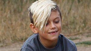Gwen Stefanis Sohn Kingston hat die Haare schön!