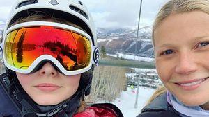 Foto vom Ski-Trip: Gwyneth Paltrows Tochter ist stinksauer