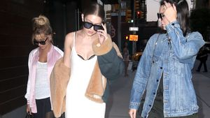 Hailey Baldwin, Gigi Hadid und Kendall Jenner in New York
