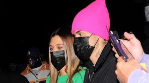 Nach Set-Tragödie: Justin und Hailey Bieber beim Basketball