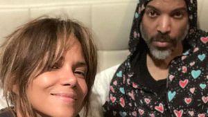 Überglücklich: Halle Berry gratuliert ihrem neuen Partner