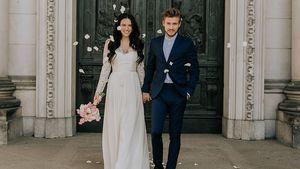 Hanna und Jörn Schlönvoigt feiern ihren zweiten Hochzeitstag