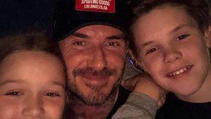 Ausflug ins Disneyland: Die Beckhams genießen Family-Day!