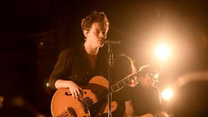 Harry Styles bei einem Konzert in New York