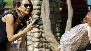Paparazzo Jessica Alba: Jeden Moment hält sie fest