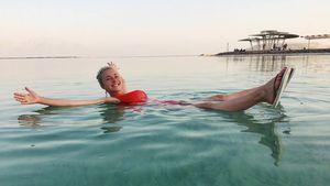Hayden Panettiere im Toten Meer