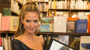 Heidi Klum bei der Buchvorstellung von Heidi Klum by Rankin