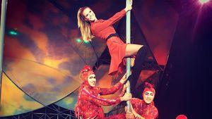 Heidi Klum 2016 im Zirkus