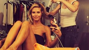 Herrlich uneitel: Heidi Klum zeigt sich ungestylt