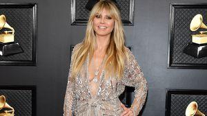 Ausschnitt und Schlitz: Heidi lässt bei Grammys tief blicken