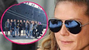 """Heidi Klum und die """"Germany's next Topmodel""""-Teilnehmerinnen 2017"""