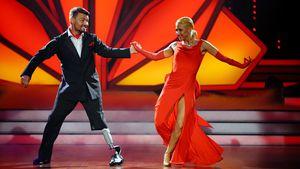"""Heinrich Popow und Kathrin Menzinger bei """"Let's Dance"""""""