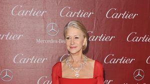 Wow! Helen Mirren verführt im roten Dress