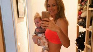 Sportliche Helen Weersmann: Mit Baby Leni zum Traum-Body