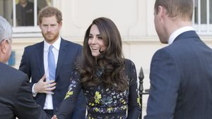 Harry, Kate und William bei der Ankunft am Institute of Contemporary Arts