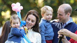 Herzogin Kate und Prinz William mit Charlotte und George beim Staatsbesuch in Kanada 2016