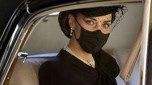 Herzogin Kate erreichte die Trauerkapelle ohne Prinz William