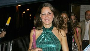 Herzogin Kate bei der Day-Glo Charity Roller Disco in London 2008