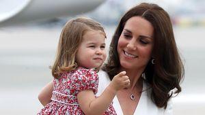 Prinzessin Charlotte geht mit Mama Kate auf Spinnensuche