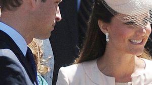 Süß: So freuen sich die Stars mit Kate & William!
