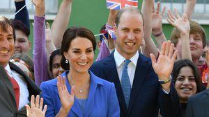 Herzogin Kate und Prinz William bei Straßenkinder e.V. in Berlin-Marzahn