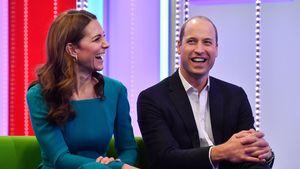 Kinder klatschen wieder: William und Kate teilen süßen Clip