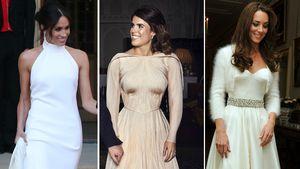 Meghan, Eugenie und Kate – Welches Zweit-Kleid gefällt euch?