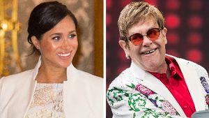 Meghan möchte Elton John als Klavierlehrer für ihr Kind!