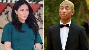 """Nicht leicht"": Meghan erzählt Pharrell Williams über Leben"