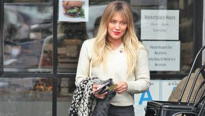 "Hilary Duff beim Verlassen des ""Studio City""-Restaurants in Los Angeles"