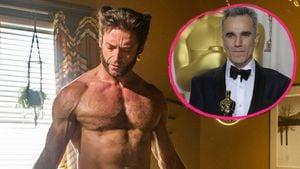 """""""Wolverine""""-Star Hugh Jackman und der dreifache Oscar-Gewinner Daniel Day-Lewis"""