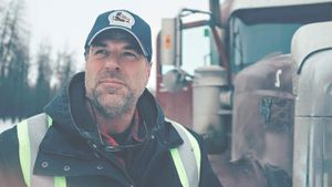 """Ice Road Truckers""-Star Darrell Ward"