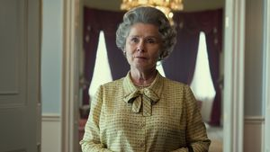 """""""The Crown"""": Erstes Foto von Imelda Staunton als Queen!"""