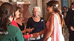 Royales Treffen: Indira Weis plaudert mit Königin Silvia