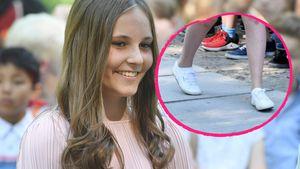 Superlässige Teen-Prinzessin: Ingrid Alexandra trägt Sneaker