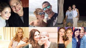 Instagram-Collage von Sarah Michelle Gellar