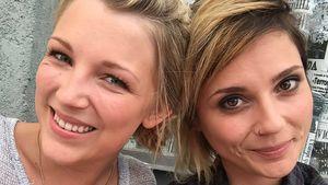 Traurig: Iris Mareike Steen verabschiedet ihre GZSZ-Kollegin