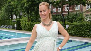 Isabel Edvardsson auf der Aspria Sommerparty in Hamburg