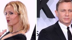 Daniel Craig und Isabel Edvardsson