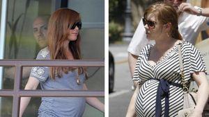 Schwangerschafts-Twins Amy Adams und Isla Fisher