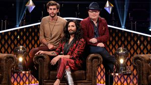 """It takes 2""-Jury: Álvaro Soler, Conchita Wurst und Angelo Kelly"