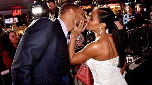 Will Smith und seine Jada: Waren diese Küsse nur gespielt?