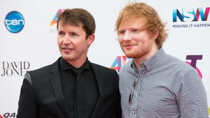 James Blunt und Ed Sheeran bei den ARIA Music Awards in Sydney