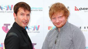 Ed Sheeran & James Blunt: Händchenhalten unter Männern