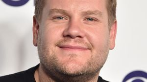 James Corden bei der CBS Upfront Presentation in New York