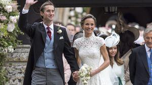 James Matthews und Pippa Middleton vor der St. Marks Kirche