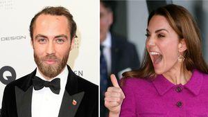 Selten: James Middleton unterstützt seine Schwester Kate!
