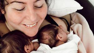 Mit 900 Gramm geboren: DSDS-Janinas Twins nehmen endlich zu