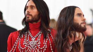 Geklaut? Jared Leto vermisst seinen legendären Met-Gala-Kopf
