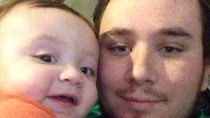Jason Reimann mit Sohn Kealan Ray Bradley